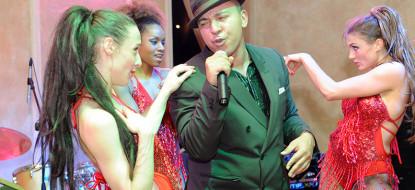 Корпоративная вечеринка при участии известного исполнителя Лу Бега